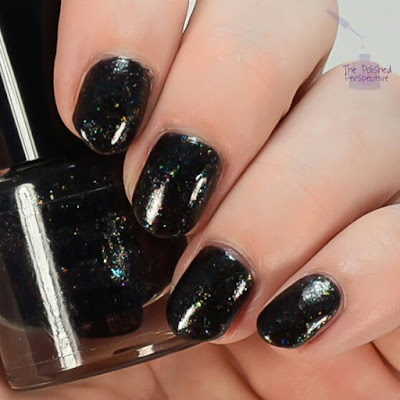 lifestyle lacquer raven's writing desk swatch