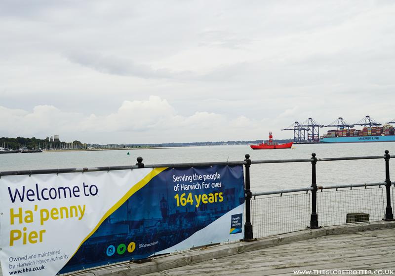 Ha'penny Pier in Harwich