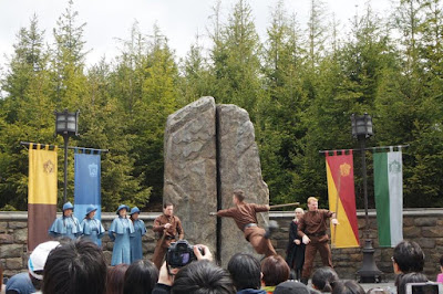 The Show at The Wizarding World of Harry Potter USJ