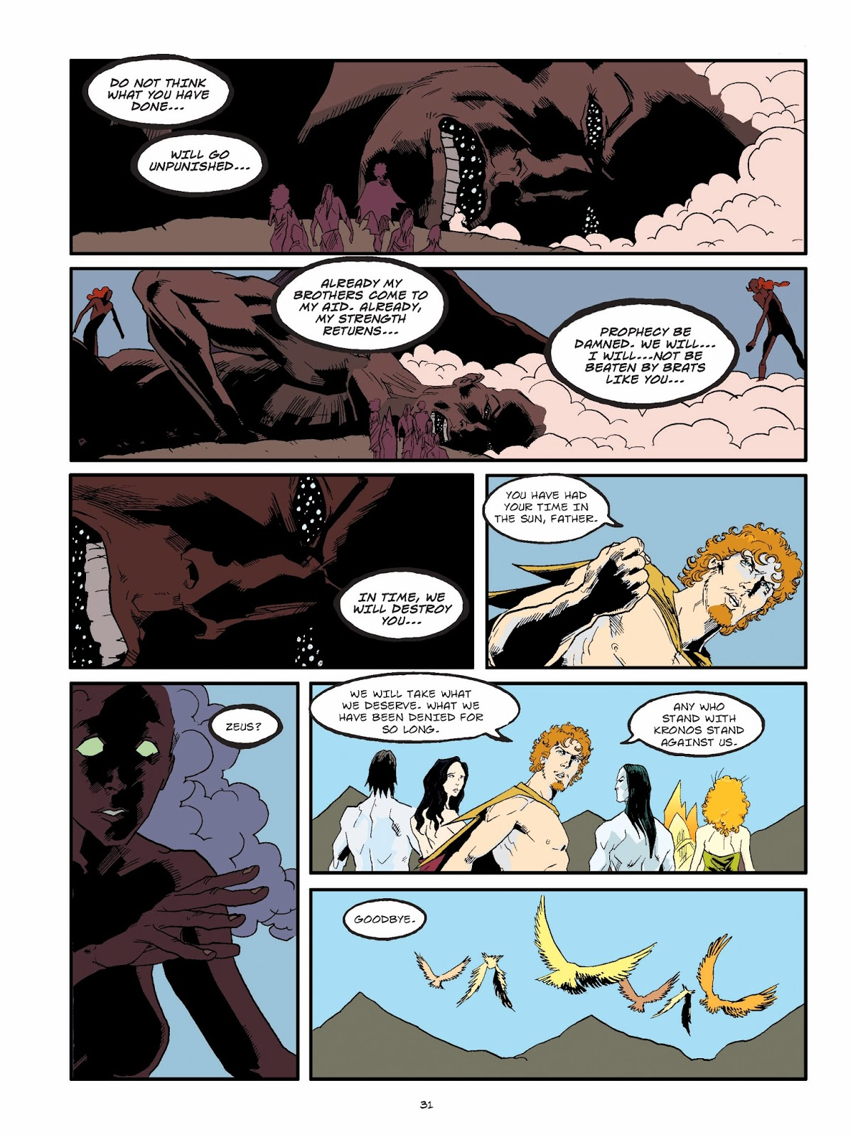Angela's Anxious Life: Olympians Zeus King of the Gods by ...