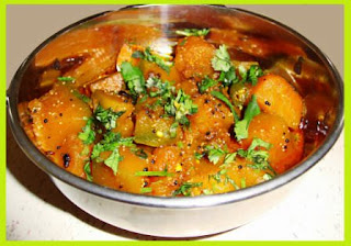Potato Pumpkin Hindi Recipe