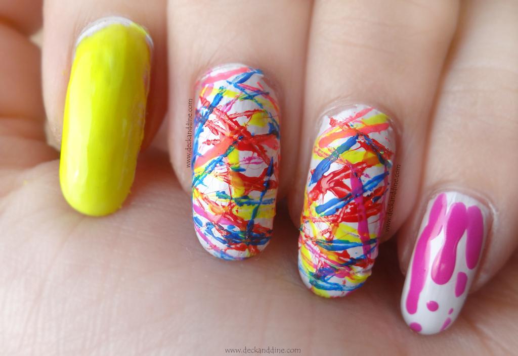 Design Nail Thread Art Ostova