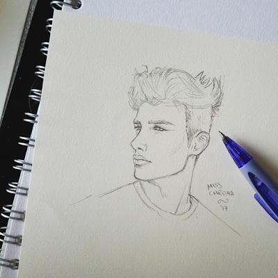 sketch schizzo a matitia