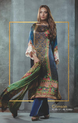 Alkaram-embroidered-chiffon-dresses-festival-collection-2017-7