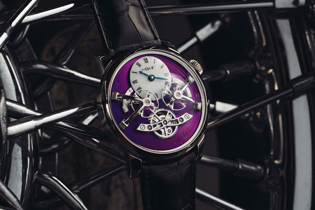MB&F LM2 White Gold Purple