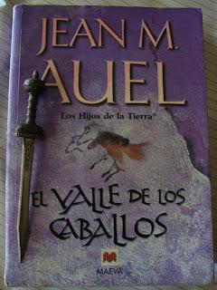 Portada del libro El valle de los caballos, de Jean M. Auel