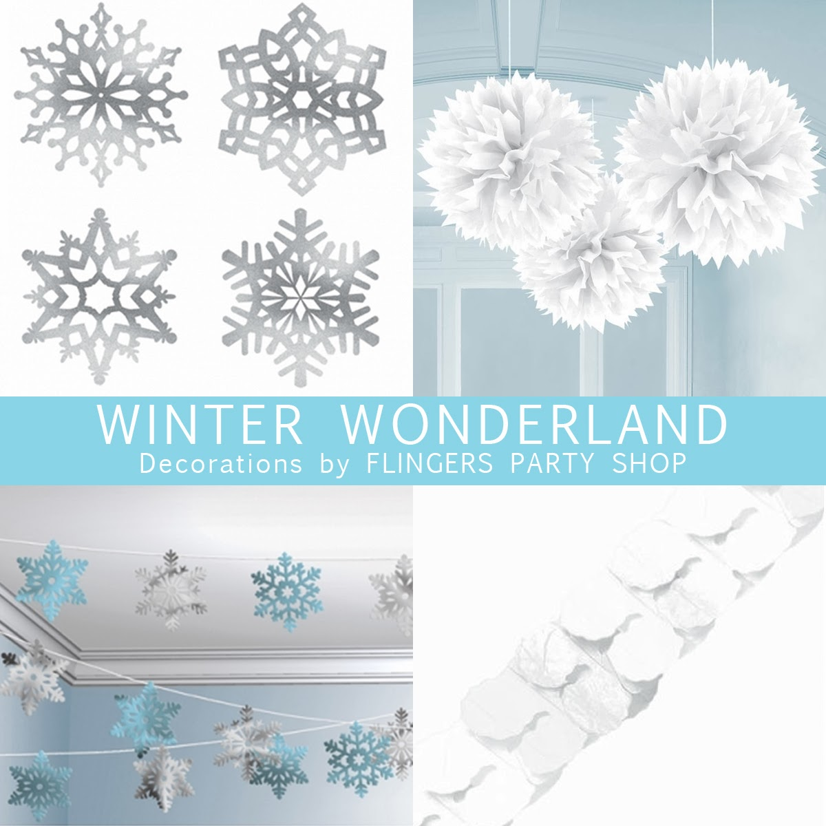 Flingers Party Shop Blog: We're Dreaming Of A White Christmas