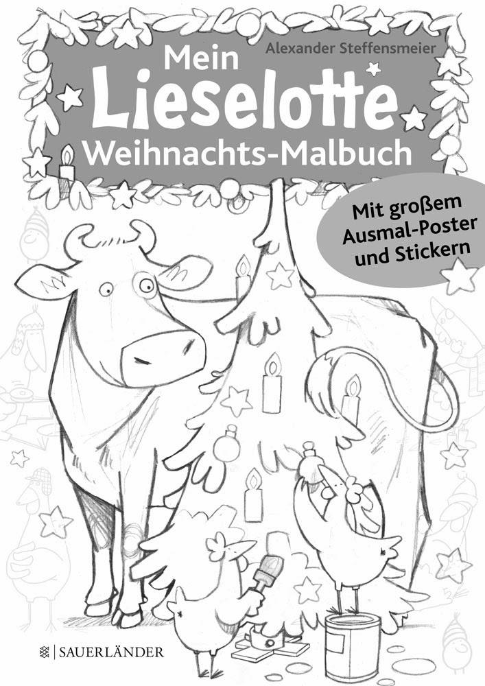 Illustration Alexander Steffensmeier: Neues von Lieselotte