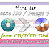 Create ISO Image from CD-DVD Disc