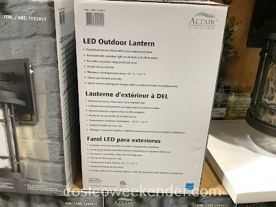Altair Lighting LED Outdoor Lantern: great for any home exterior