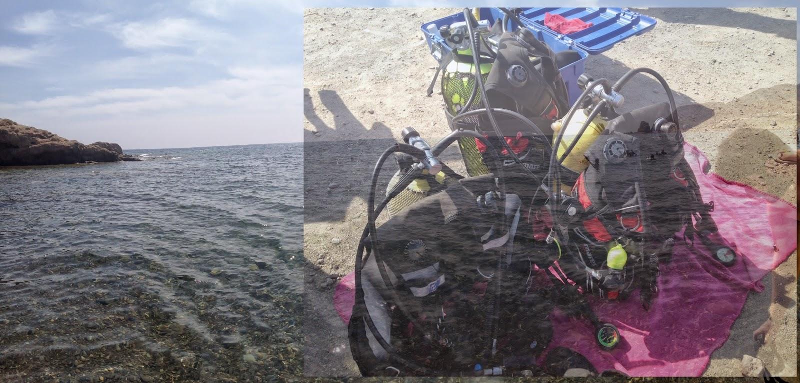 Gata El Cuidado Del Cuerpo: Sabor Azul Klein: BAUTISMO DE BUCEO: Almería, Cabo De Gata