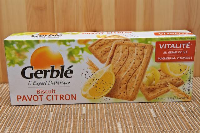 Biscuit Gerblé Pavot Citron - Diététique - Pavot - Agrume - Citron - Dessert - Goûter - Biscuit