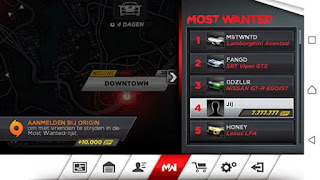 NFS Most Wanted Mod Apk Terbaru