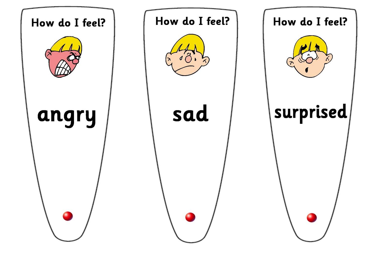Debbie S Resource Cupboard Emotion Fans