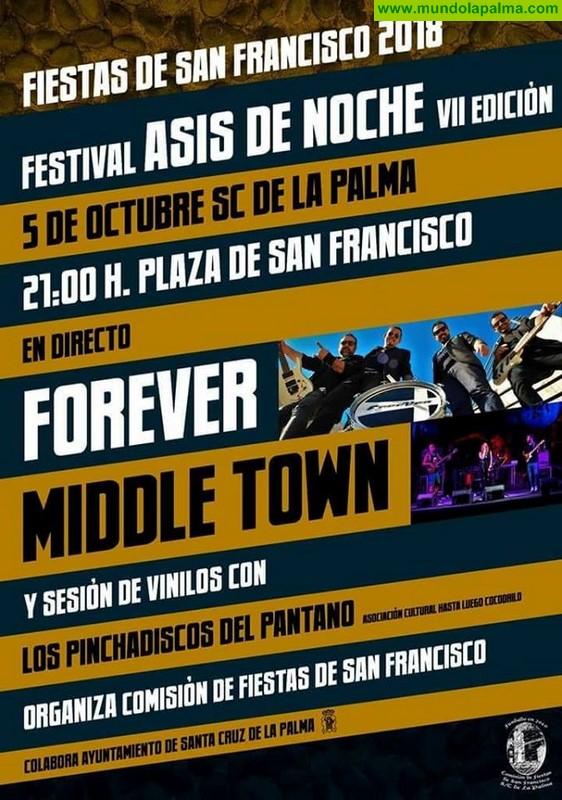 """Fiestas de San Francisco 2018 VII edición del Festival """"Asis de Noche"""""""