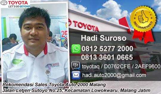 Rekomendasi Sales Toyota Auto 2000 Malang 2017