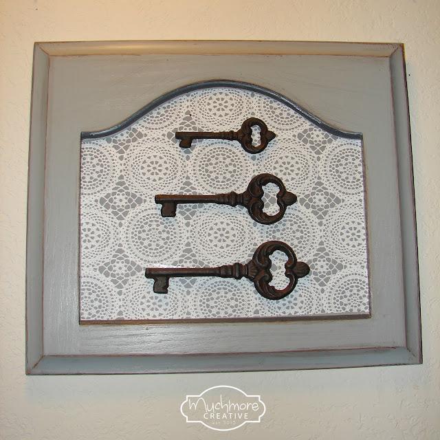Muchmore creative key cabinet door for Creative cabinet doors