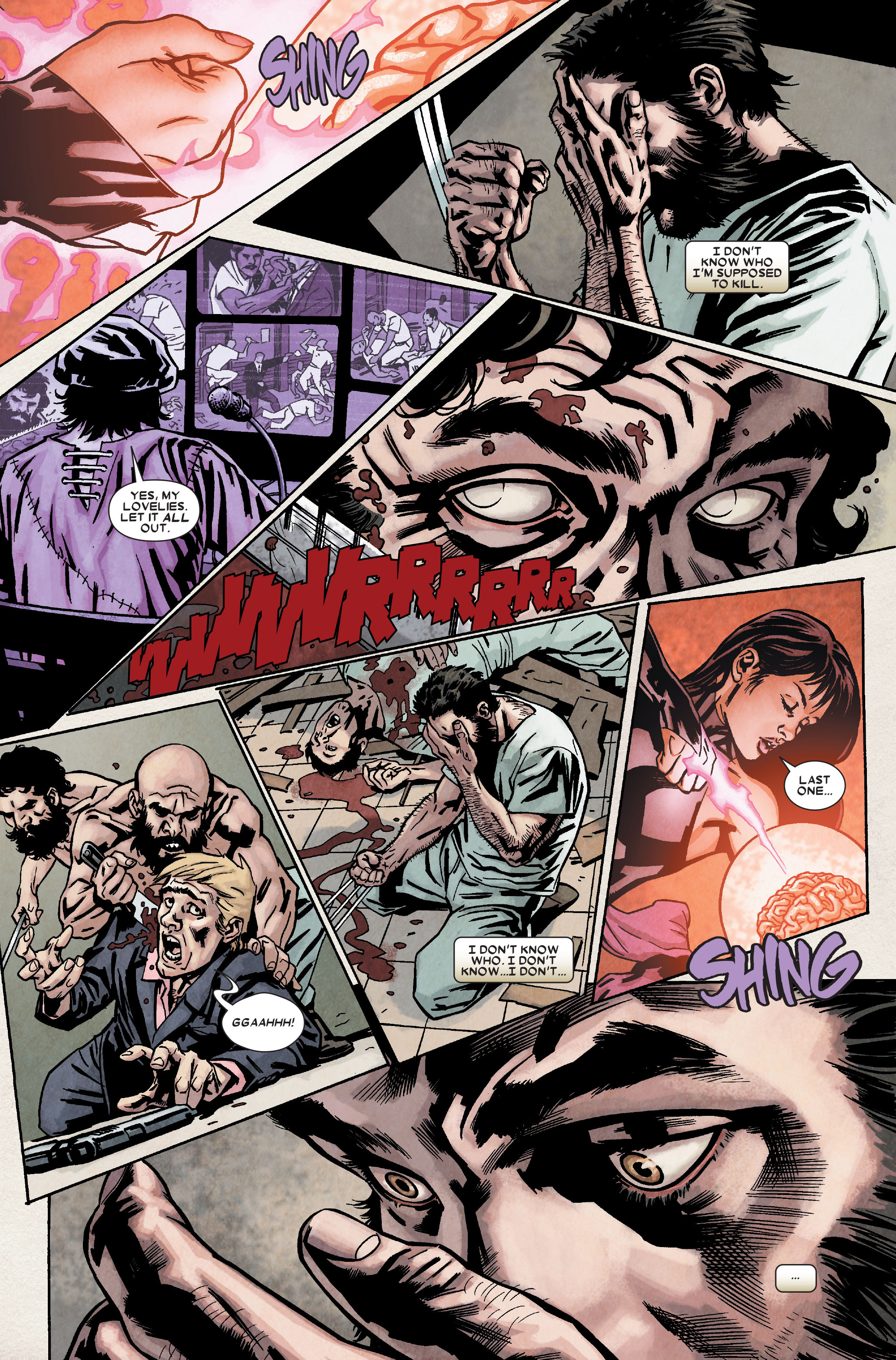 Read online Wolverine: Weapon X comic -  Issue #9 - 11