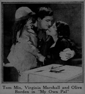 Olive Borden Tom Mix