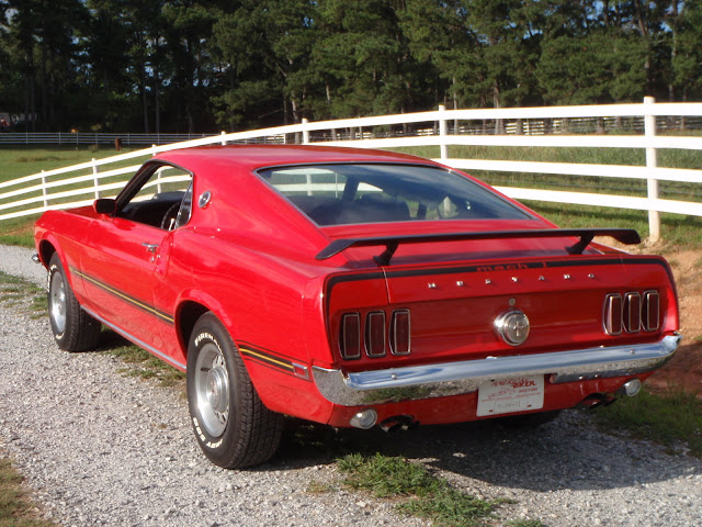 1969 Ford Mustang Mach 1 SportsRoof Pictures Gallery