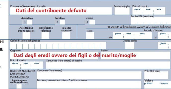 Dichiarazione dei redditi del defunto quando presentarla for Irpef 2017 scadenze