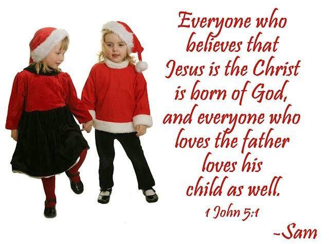 Christmas Kids Bible Verse