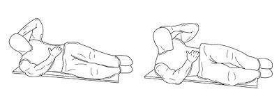 rutina de abdominales laterales