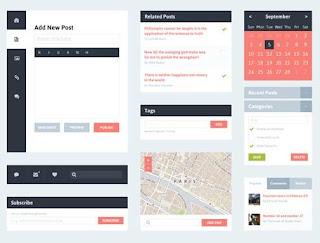 free ui kit  web design UI