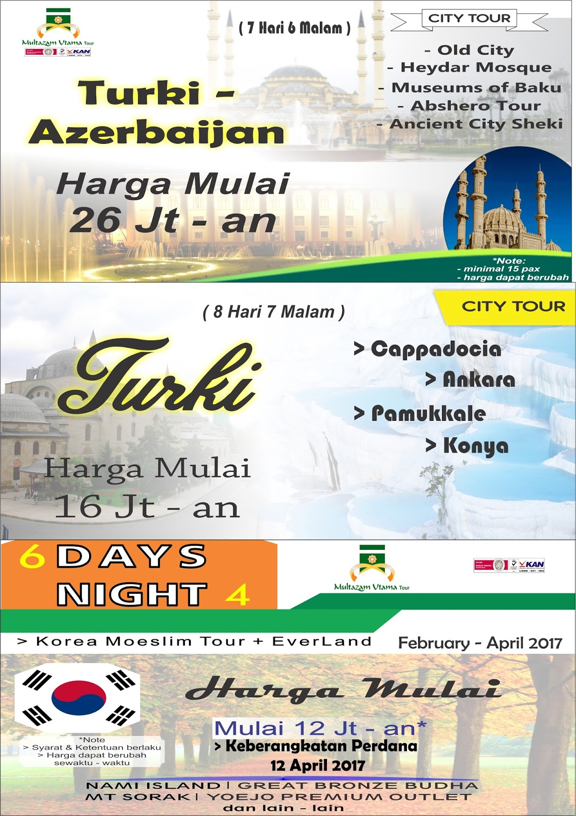 paket wisata dalam negeri dan wisata luar negeri 2017 multazam rh multazamsemarang blogspot com paket tour luar negeri murah 2018 paket tour luar negeri murah 2018