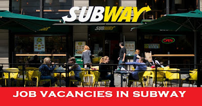 Subway Job Vacancies at Dubai
