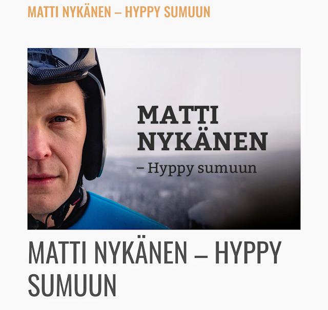 Matti Nykänen Hyppy sumuun Tatu Mönttinen