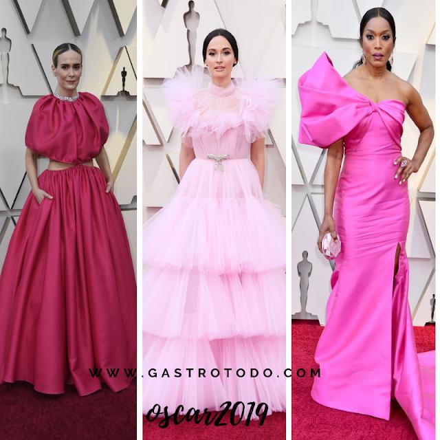 Opciones rosadas del color rosado.