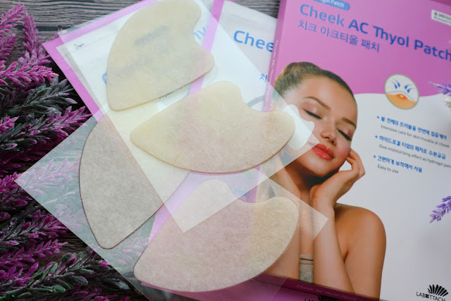 Патч от акне на щеках Wooshin Labottach Hydrogel Patch Cheek AC Thyol