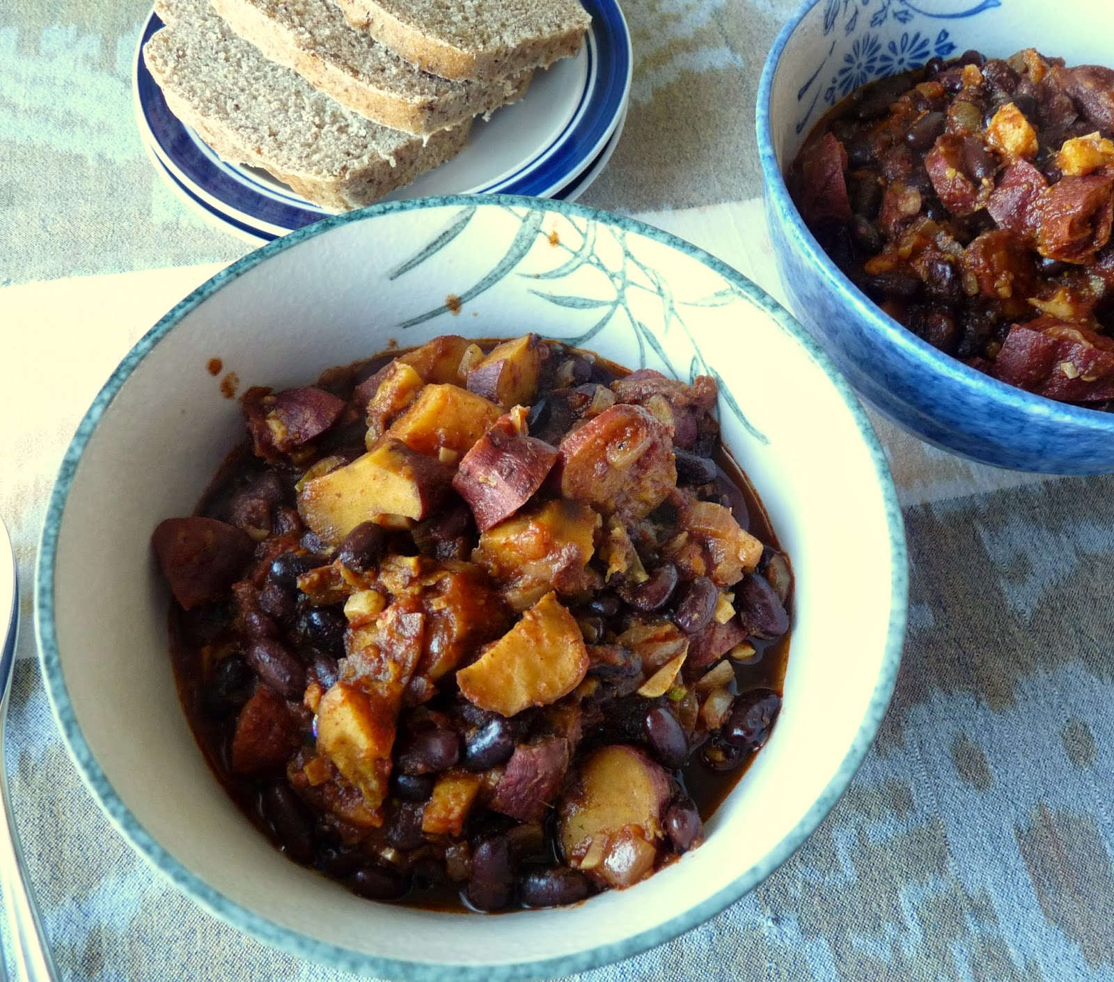 Black Bean & Sweet Potato Chili