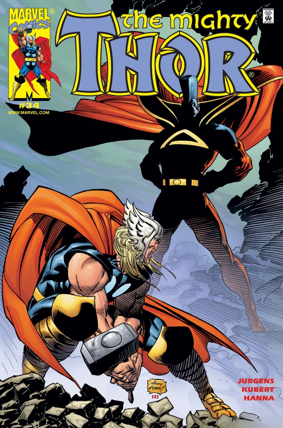 Thor (1998) Issue #34 #35 - English 1