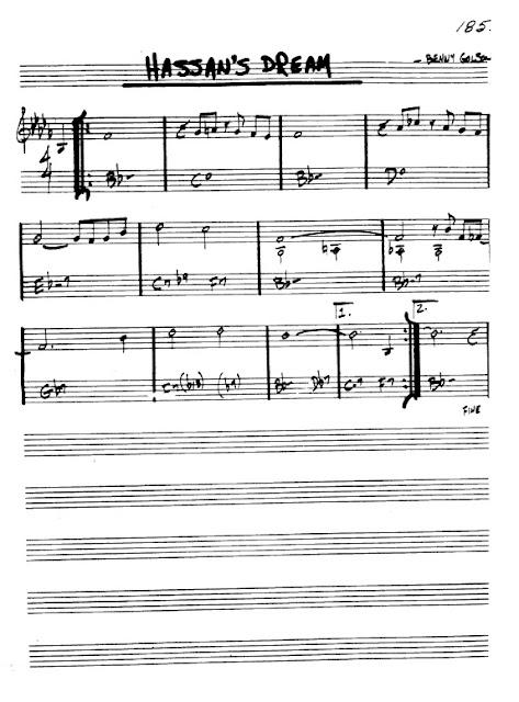 Partitura Flauta Benny Golson