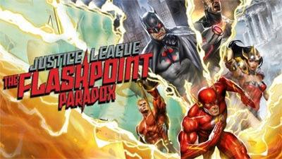 Portada de Justice League The Flash Point Paradox