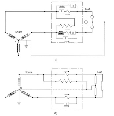 ELECTRICITY METERING FOR THREE   WIRE    NETWORK SERVICE SYSTEM