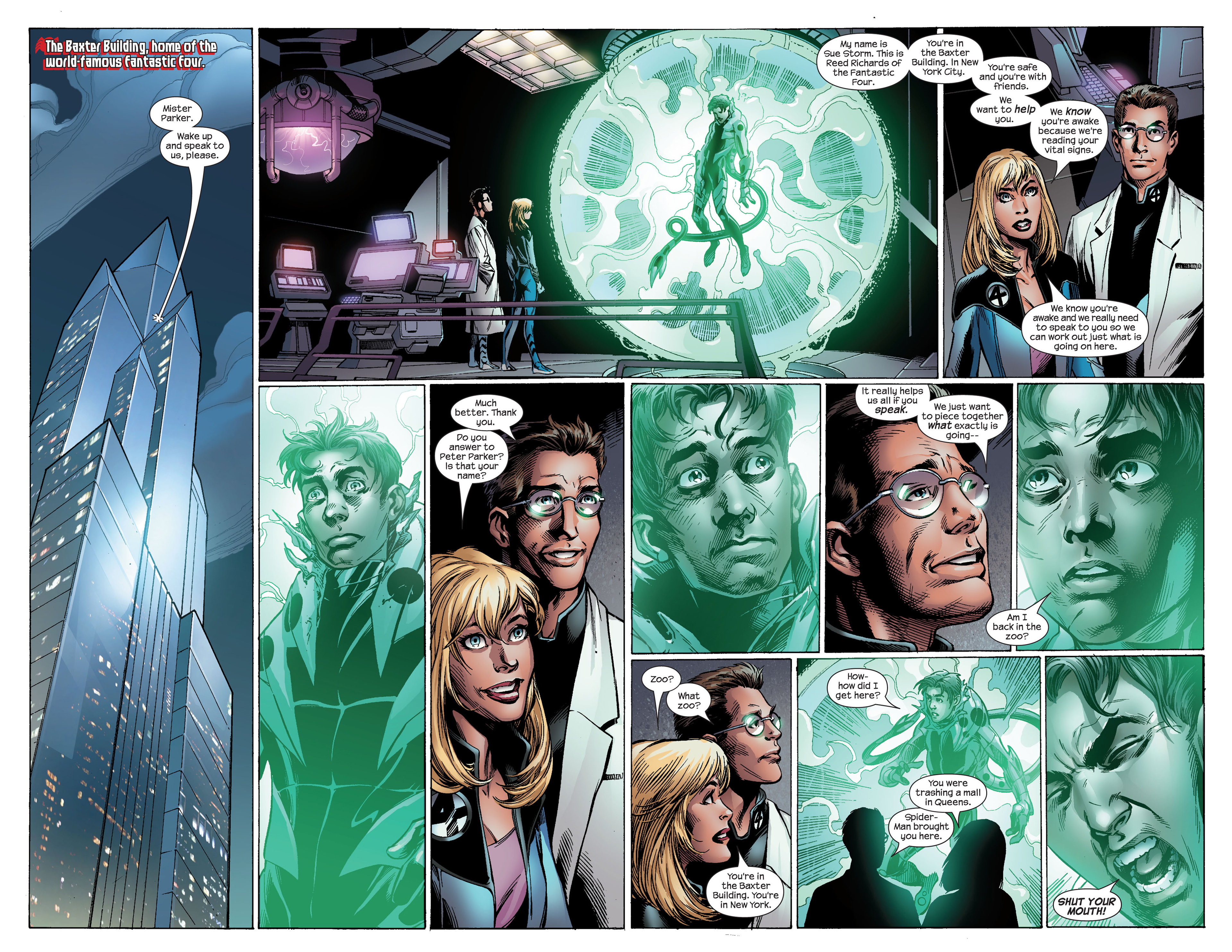 Read online Ultimate Spider-Man (2000) comic -  Issue #99 - 7