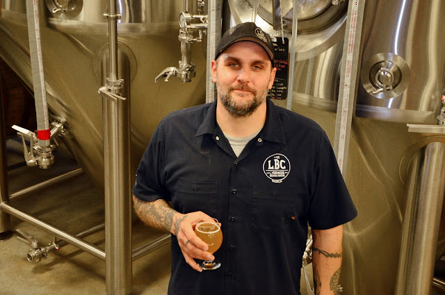 Lynnwood Brewing Concern's head brewer Bill Gerds