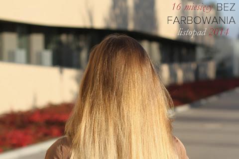 Moje włosy - listopad 2014 | 17 miesięcy bez farbowania włosów - czytaj dalej »