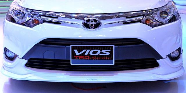 Lộ diện phiên bản Toyota Vios TRD cải tiến từ Vios G ảnh 2