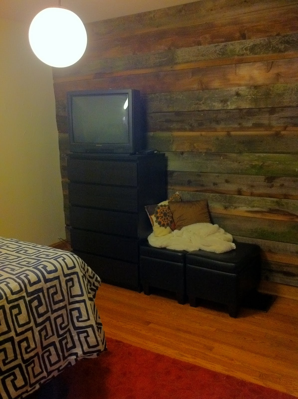 Decorella Reclaimed Wood Accent Wall Project