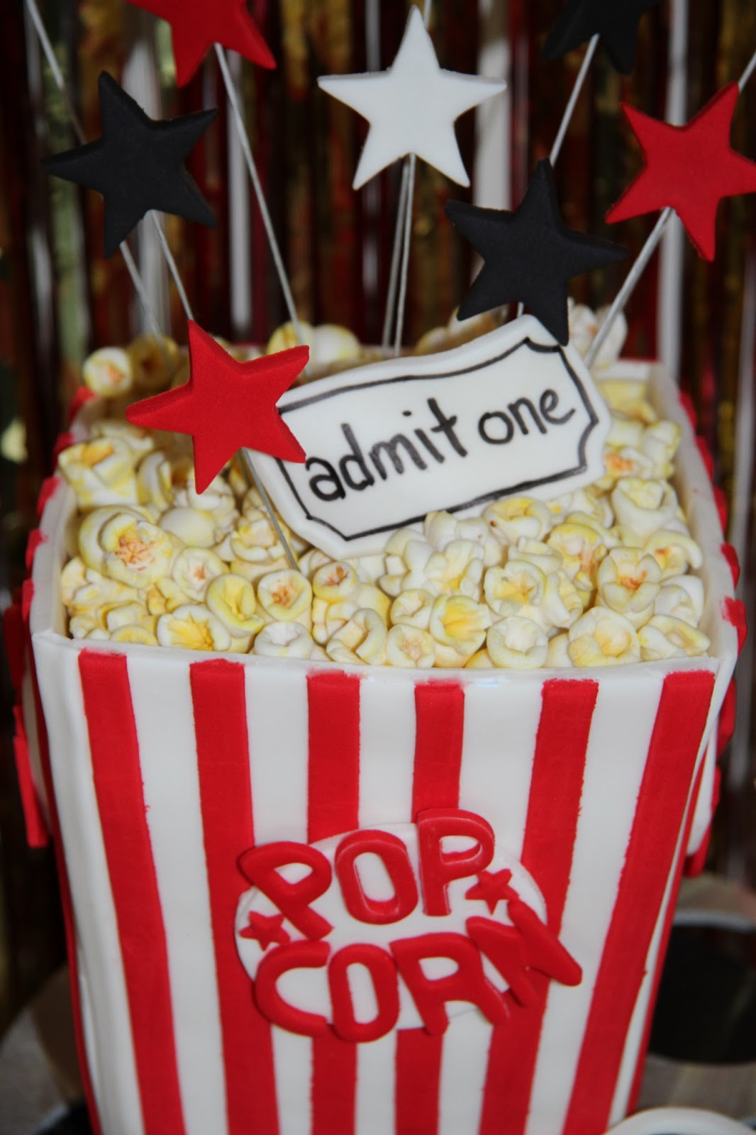 Leonie S Cakes And Parties Movie Night Party