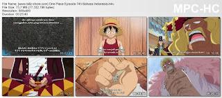 One Piece Episode 745 (Pertukaran Cawan Aliansi! Terbentuknya Armada Topi Jerami!) Bahasa Indonesia