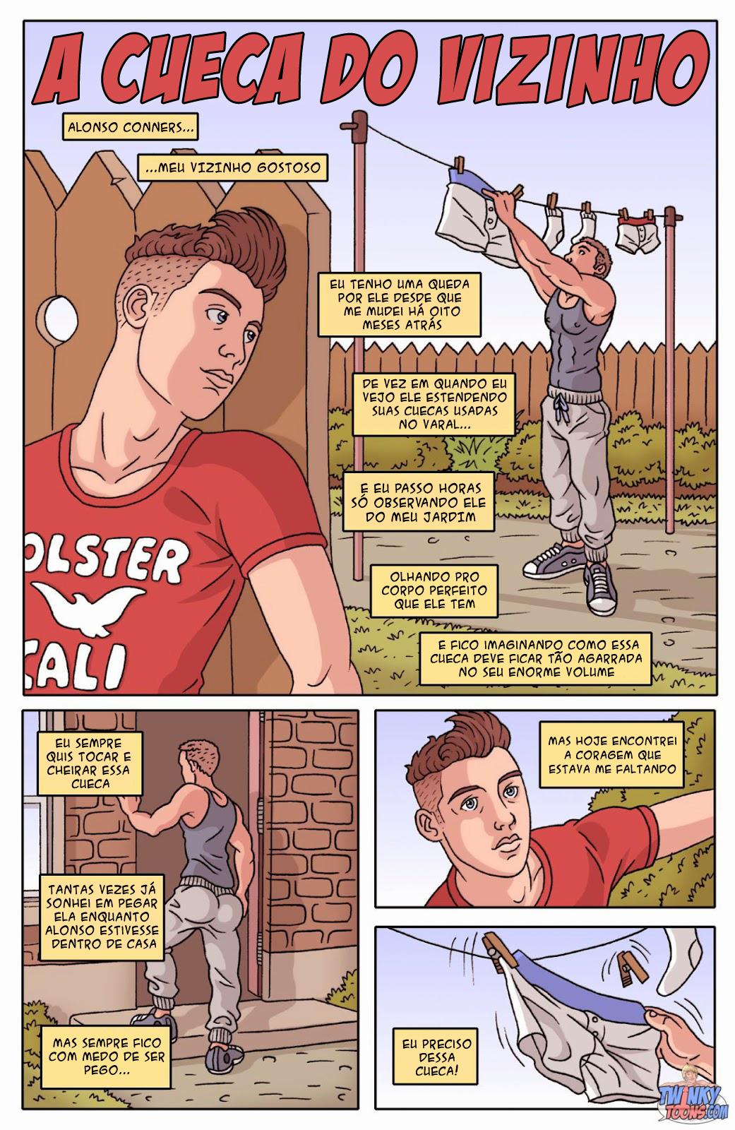 Gay Comics The Neighbour's Undertøj-3008