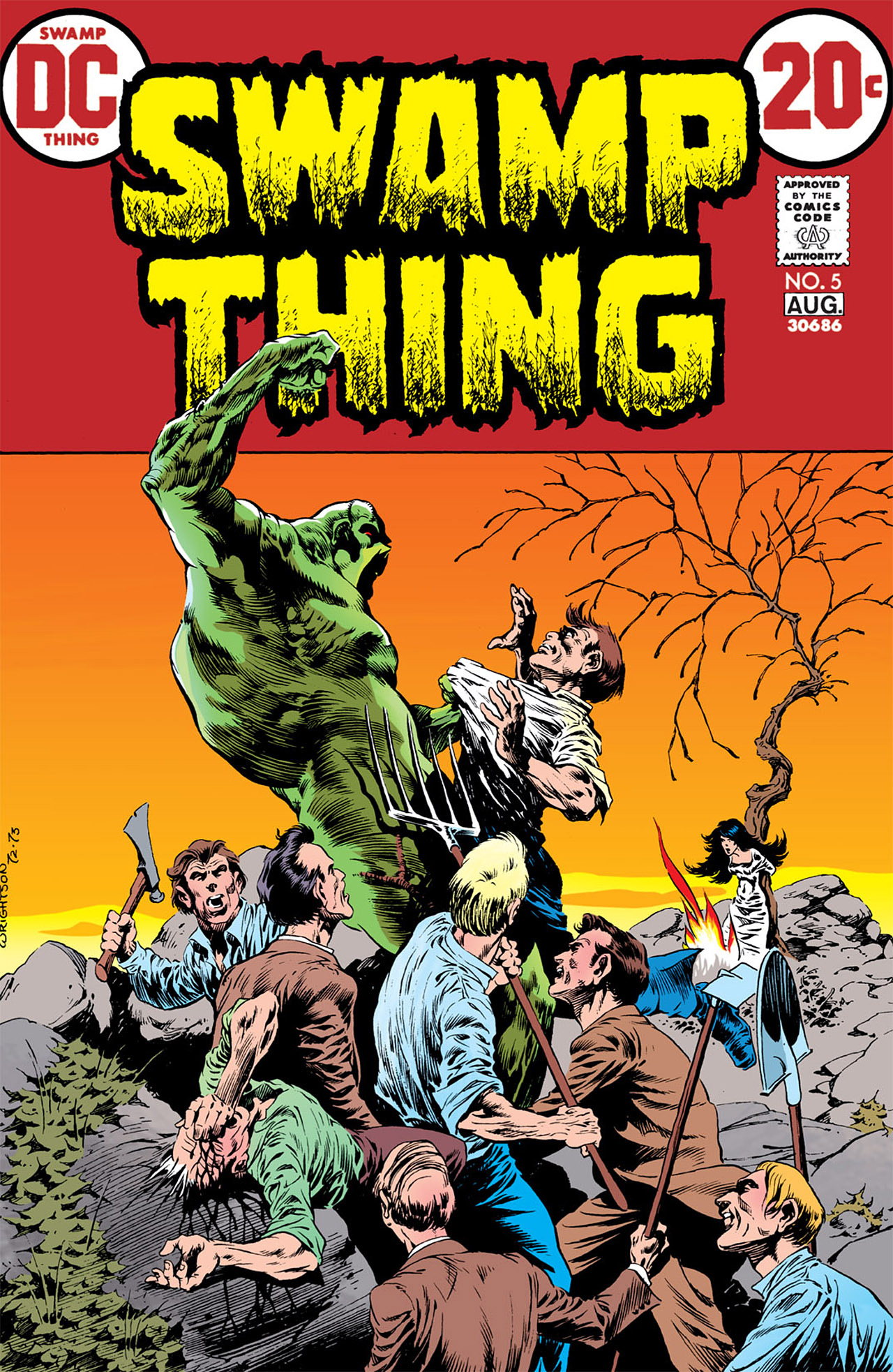 Swamp Thing (1972) issue 5 - Page 1
