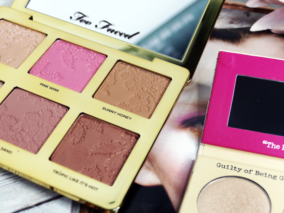 """Too faced Natural Face Palette - """"Sunny Honey"""""""