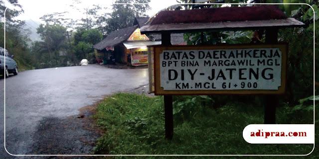 Batas Daerah Kerja DIY-Jateng | adipraa.com