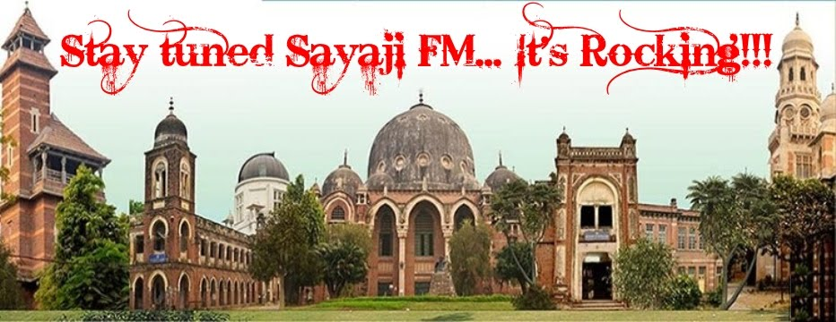 Sayaji FM... It's Rocking!!!